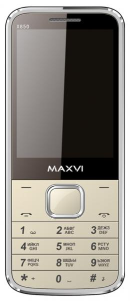 Maxvi X850 Black